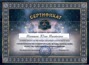 гипноз наяву информационный гипноз сертификат гипнору